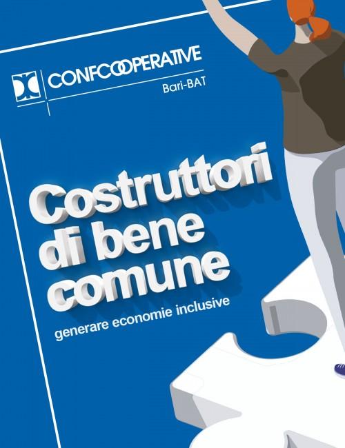 Confcooperative Bari-BAT - Creatività dell'evento dell'Assemblea Interprovinciale, progettazione immagine, insegne e proiezione video durante l'evento (2020)