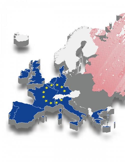 European University Institute - Ideazione e creazione mappa interattiva per progetto Paneur, sviluppo css e html5 per il portale del progetto dell'Università (2017-2020)